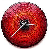 Для дома и интерьера ручной работы. Ярмарка Мастеров - ручная работа Часы настенные «Кирпичики». Handmade.