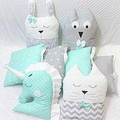 Работы для детей, handmade. Livemaster - original item Copy of Copy of Copy of Copy of Baby set pillows. Handmade.
