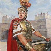 Римский консул Квинт Арий. Портрет Джека Хоукинса.