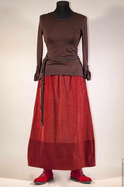VELVET Длинная юбка