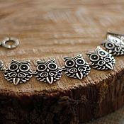 Украшения handmade. Livemaster - original item Spectacular Owl bracelet. Handmade.