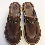 """Обувь ручной работы. Ярмарка Мастеров - ручная работа Кожаные тапочки """" Afrika"""". Handmade."""