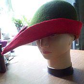 Субкультуры ручной работы. Ярмарка Мастеров - ручная работа Тиролька шляпка из войлока. Handmade.