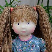 Куклы и игрушки ручной работы. Ярмарка Мастеров - ручная работа Полинка, 40 см. Handmade.