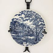 Винтаж ручной работы. Ярмарка Мастеров - ручная работа Тарелка из английского фарфора. Handmade.