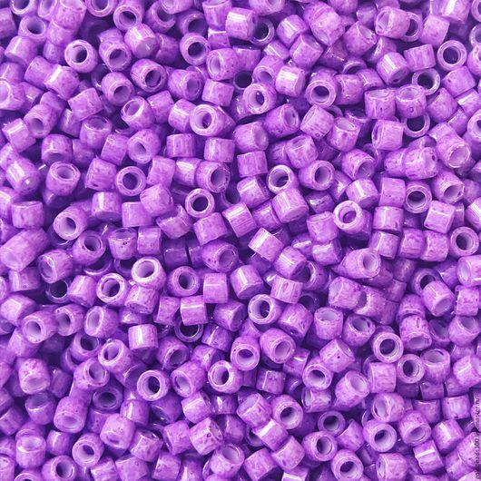 Для украшений ручной работы. Ярмарка Мастеров - ручная работа. Купить 10 ГР MIYUKI DELICA 11/0 DB1379 opaque red violet. Handmade.