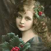 Украшения handmade. Livemaster - original item Brooch hairpin hair ornaments, leather flower RED BERRIES. Handmade.