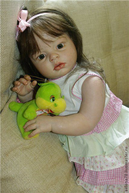 Куклы-младенцы и reborn ручной работы. Ярмарка Мастеров - ручная работа. Купить Арина(продана). Handmade. Реборн, Генезис, синтепух, генезис
