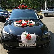 Свадебный салон ручной работы. Ярмарка Мастеров - ручная работа Украшения для свадебного авто и кортежа. Handmade.