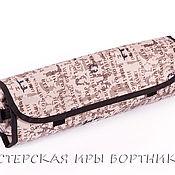 Канцелярские товары ручной работы. Ярмарка Мастеров - ручная работа Пенал для кистей, для карандашей для художки купить. Handmade.