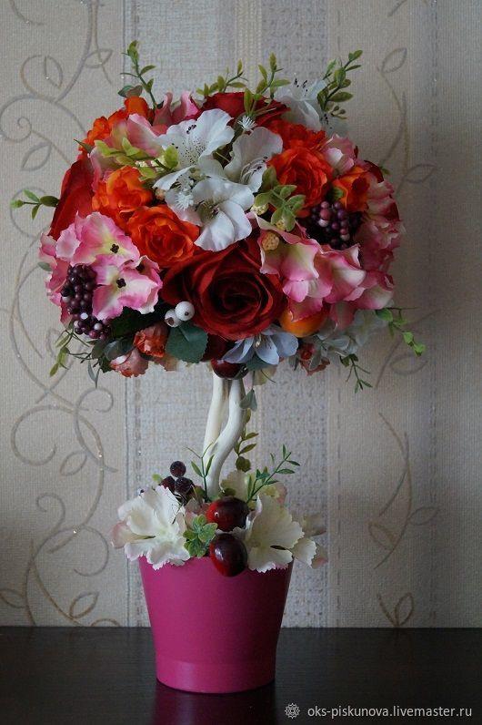 Искусственные цветы для топиария купить в нижнем новгороде купить тюльпаны луковицы