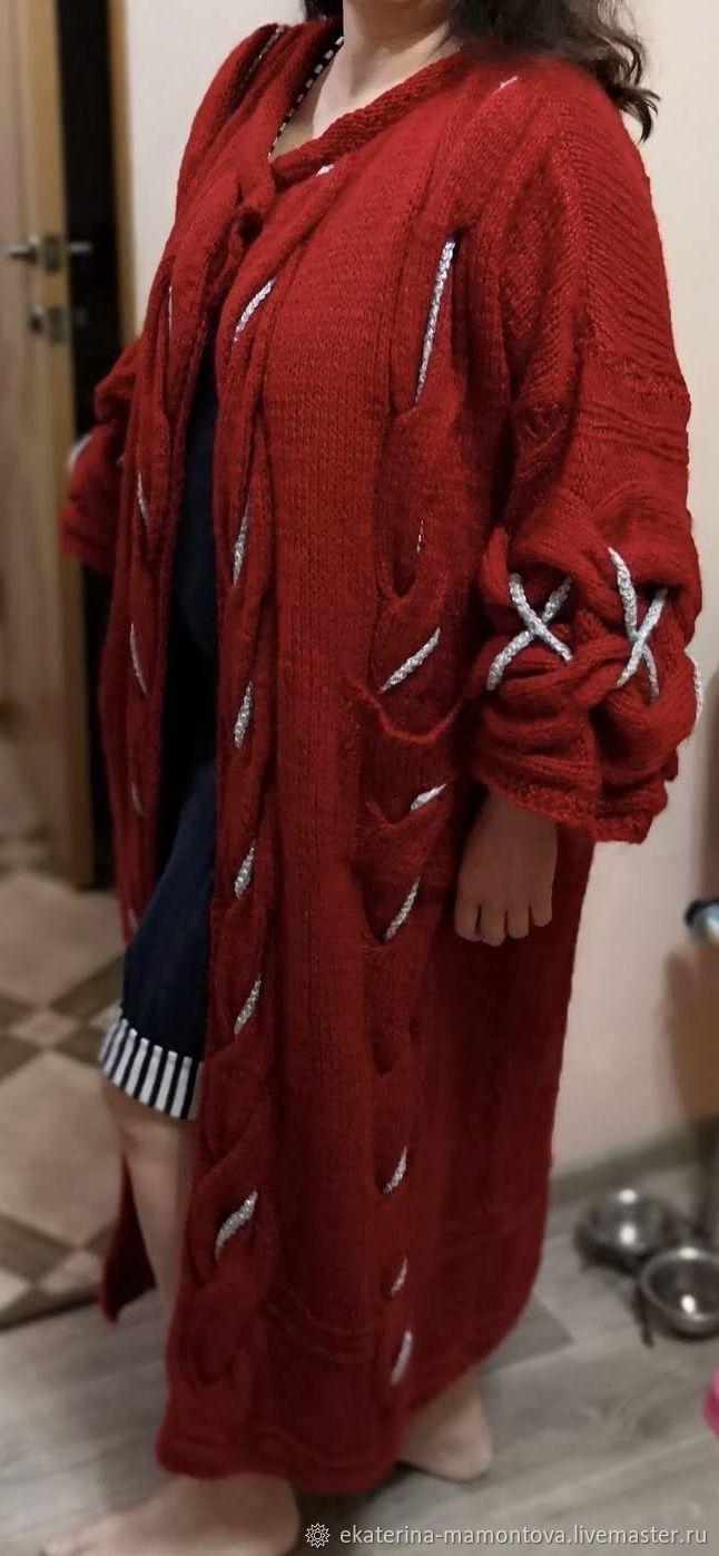 Вязаное пальто, Пальто, Ейск,  Фото №1