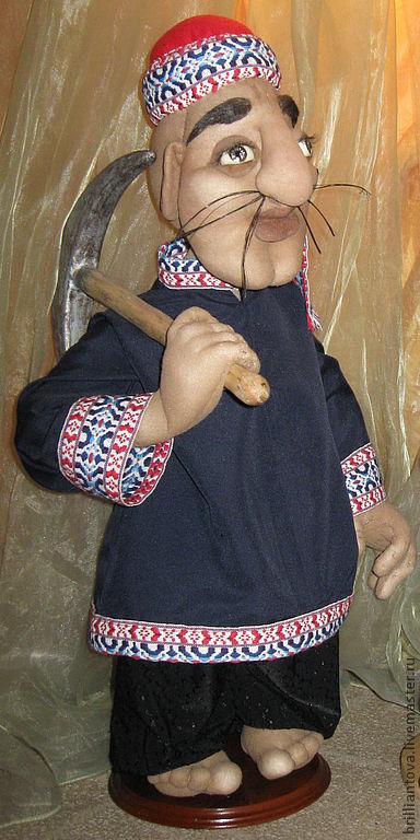 """Коллекционные куклы ручной работы. Ярмарка Мастеров - ручная работа. Купить кукла """"Зельзеля"""". Handmade. Кукла, текстильная кукла"""