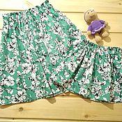 Одежда ручной работы. Ярмарка Мастеров - ручная работа комплект юбок для мамы и дочки. Handmade.