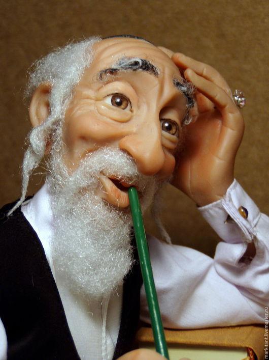 Коллекционные куклы ручной работы. Ярмарка Мастеров - ручная работа. Купить Еврейские майсы. Handmade. Коричневый, шутка, латунь