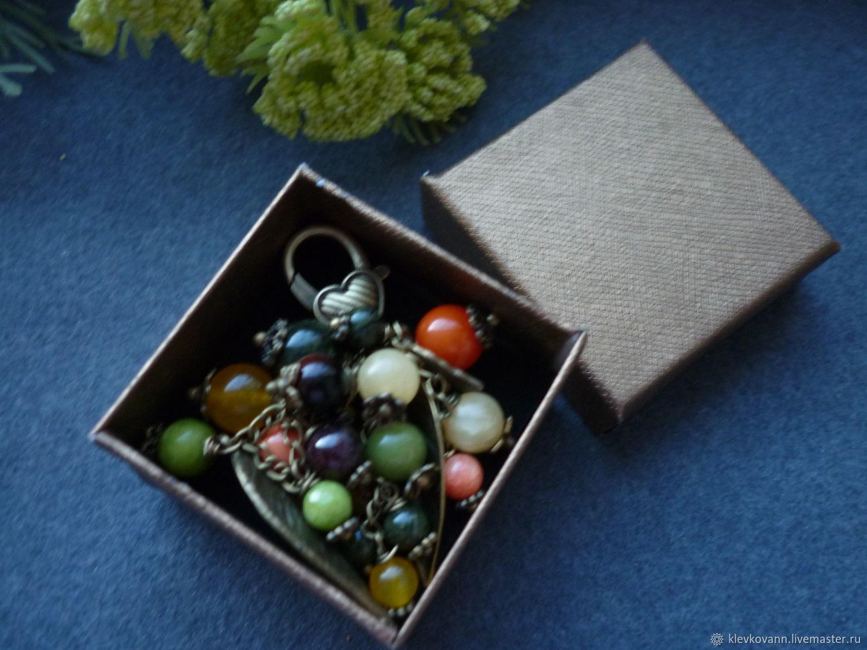 """Брелок для ключей, украшение на сумку """"В лесу"""""""