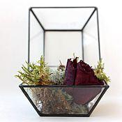 Для дома и интерьера handmade. Livemaster - original item Box of glass. Small jewelry box for rings, flowers and gift. Handmade.