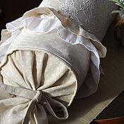 Для дома и интерьера ручной работы. Ярмарка Мастеров - ручная работа Подушка валик. Handmade.