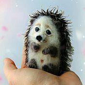 Куклы и игрушки handmade. Livemaster - original item hedgehog-baby. Handmade.