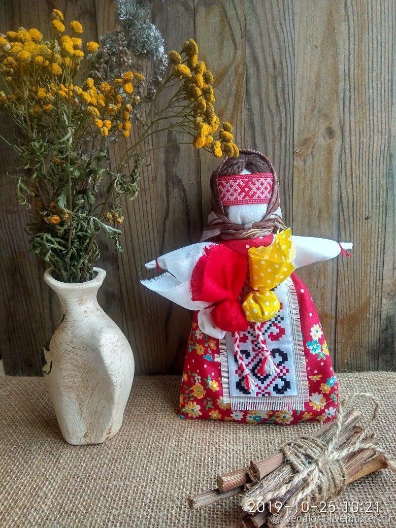 Кукла Метлушка хозяюшка. Народная кукла оберег, Народная кукла, Салават,  Фото №1