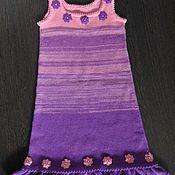 Работы для детей, ручной работы. Ярмарка Мастеров - ручная работа Платье-сарафан. Handmade.
