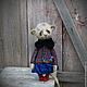 Мишки Тедди ручной работы. Teddy bear and friends/ Artist Bear. Люся.. Наташа Некорыстнова.. Ярмарка Мастеров.