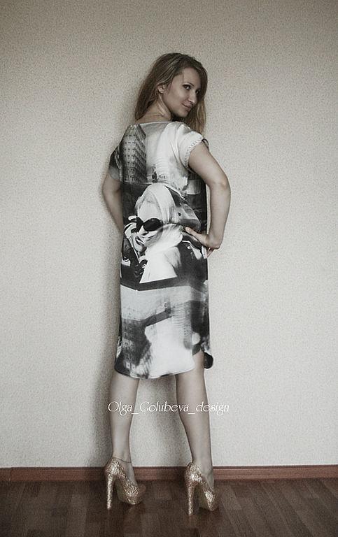 Платье-туника «Девушка за рулем», Платья, Санкт-Петербург,  Фото №1