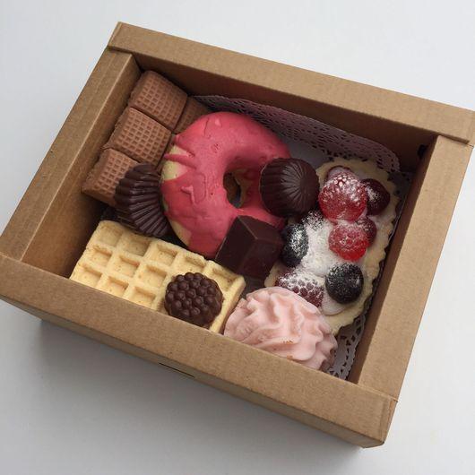 Мыло ручной работы. Ярмарка Мастеров - ручная работа. Купить Набор сладостей из мыла N4. Handmade. Набор мыла