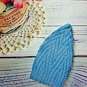 Работы для детей, handmade. Livemaster - original item Hat knitted baby. Handmade.