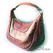 "Сумки и аксессуары handmade. Livemaster - original item Bag leather ""Obojan"". Handmade."