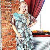 """Одежда ручной работы. Ярмарка Мастеров - ручная работа Авторское валяное платье """" Mint wings"""". Handmade."""