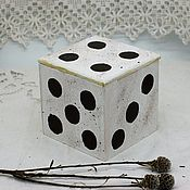 Для дома и интерьера handmade. Livemaster - original item Box Luck dice dice game dice. Handmade.