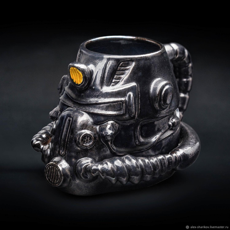 Fallout t-51 mug (Power armor) / New Vegas Ranger, Mugs and cups, St. Petersburg,  Фото №1