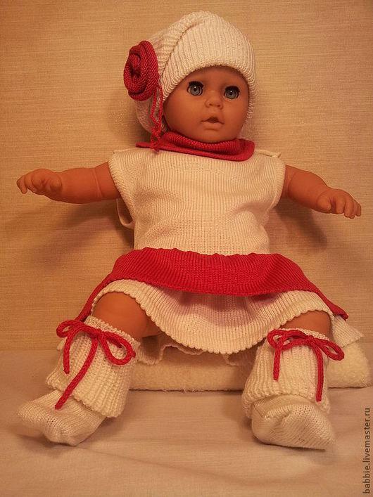 """Для новорожденных, ручной работы. Ярмарка Мастеров - ручная работа. Купить Комплект """"Леди"""". Handmade. Платье, праздничное платье"""