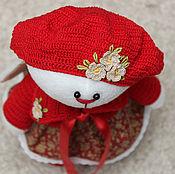 Куклы и игрушки ручной работы. Ярмарка Мастеров - ручная работа Зайка Привет из Парижа. Handmade.