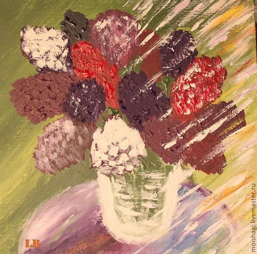Картины цветов ручной работы. Ярмарка Мастеров - ручная работа. Купить Весна. Handmade. Весна, солнце, легкий ветерок, холст