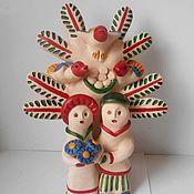 """Куклы и игрушки ручной работы. Ярмарка Мастеров - ручная работа Дерево Жизни """"Семья"""". Handmade."""