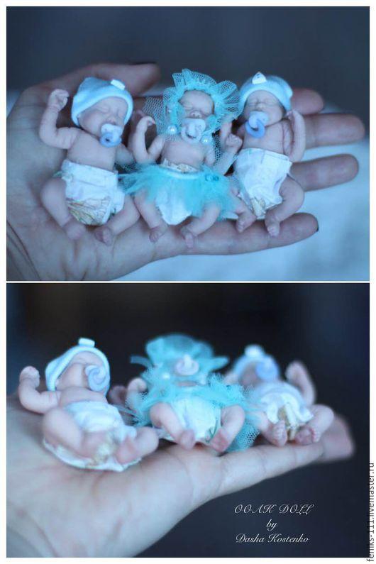 Куклы-младенцы и reborn ручной работы. Ярмарка Мастеров - ручная работа. Купить ООАК Тройняшки!. Handmade. Комбинированный, dasha kostenko