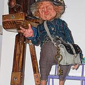 Куклы и игрушки ручной работы. Ярмарка Мастеров - ручная работа Фотограф-коротышка.. Handmade.