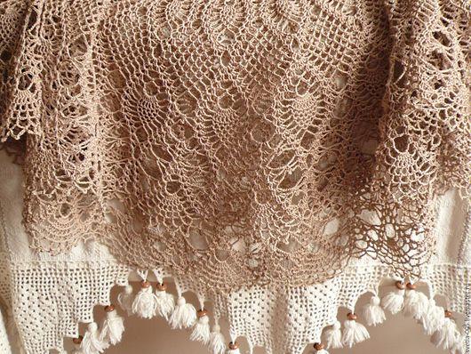 Текстиль, ковры ручной работы. Ярмарка Мастеров - ручная работа. Купить Скатерть  Event. Handmade. Белый, Салфетка вязаная