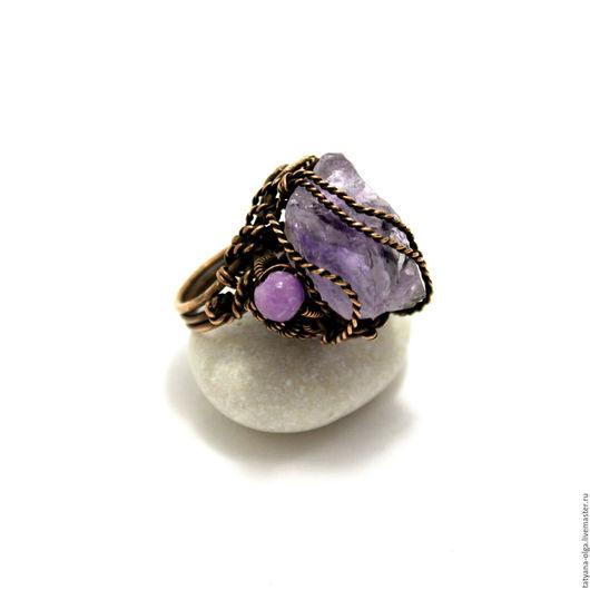 Перстень с аметистом Горная лаванда