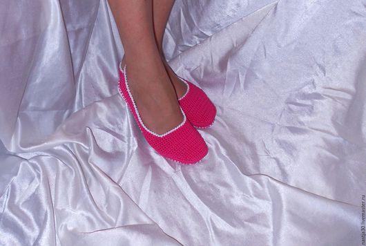 Обувь ручной работы. Ярмарка Мастеров - ручная работа. Купить Балетки. Handmade. Коралловый, обувь ручной работы