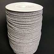 Шнуры ручной работы. Ярмарка Мастеров - ручная работа Хлопковый шнур 5 мм. Handmade.