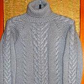 Одежда ручной работы. Ярмарка Мастеров - ручная работа Вязаная туника женская. Handmade.