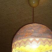 """Для дома и интерьера ручной работы. Ярмарка Мастеров - ручная работа Абажур """"Ложновинтажный"""". Handmade."""