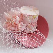 Свадебный салон handmade. Livemaster - original item hats: Mini hat