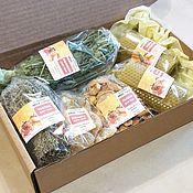 Сувениры и подарки handmade. Livemaster - original item New Year gift Set - Tea Party. Handmade.