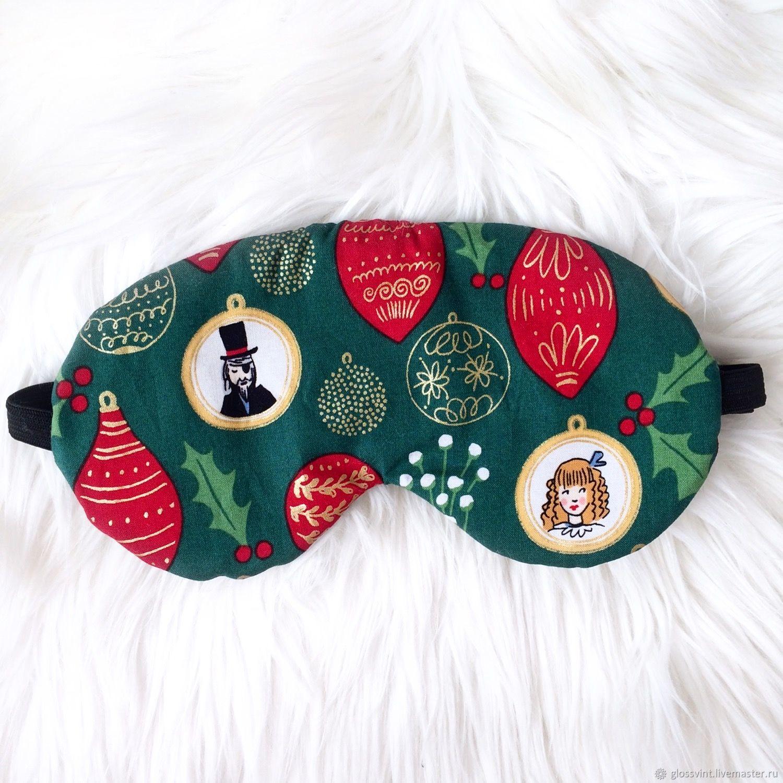 01ce622e5ec Underwear   Pajamas handmade. Livemaster - handmade. Buy Sleep mask  New  year  ...