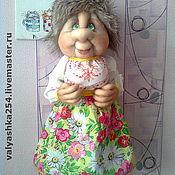 Для дома и интерьера ручной работы. Ярмарка Мастеров - ручная работа Кукла - пакетница. Handmade.