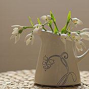 Цветы и флористика ручной работы. Ярмарка Мастеров - ручная работа Подснежники из полимерной глины. Handmade.
